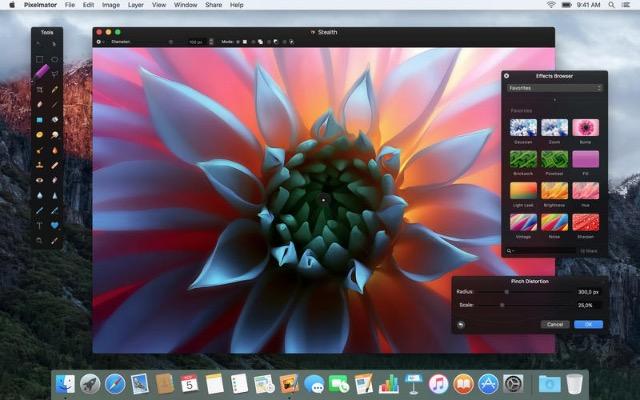 New Mac -bb- Pixelmator