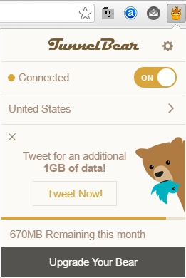 TunnelBear VPN