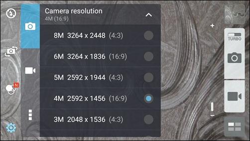 camera resolution