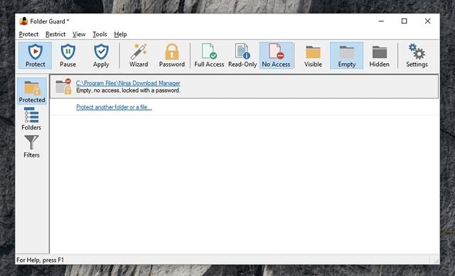 Lock Apps Folder Guard