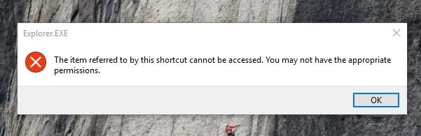 Mensaje bloqueado de My Lockbox