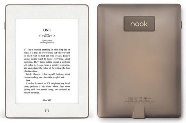 Nook Glowlight Plus Kindle Alternative