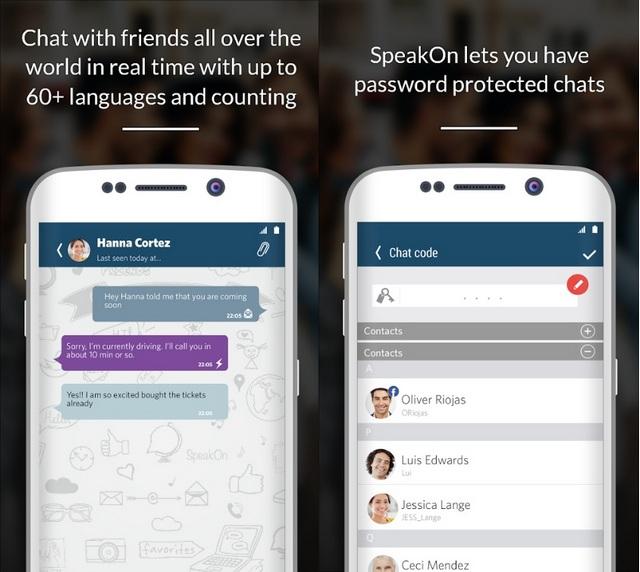 SpeakOn app