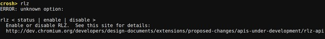 Chrome OS Crosh rlz command