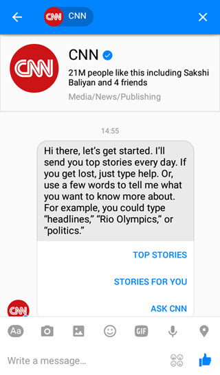 cnn-facebook-messenger-bot