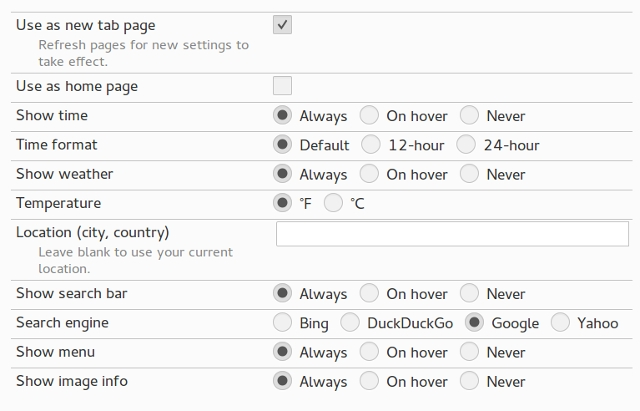 firefox-newtab-tabtrekker-options
