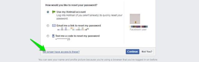 Sin acceso al correo electrónico