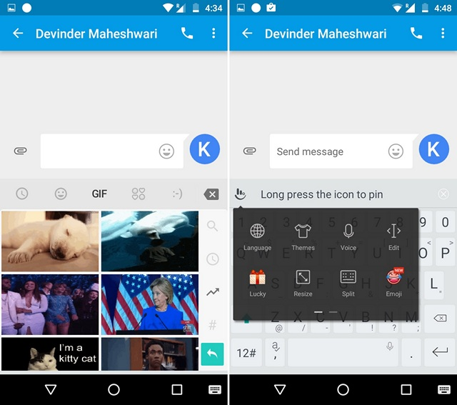 TouchPal GIF Keyboard Android