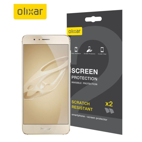 Olixar Scratch Resistant Honor 8 Screen Protector