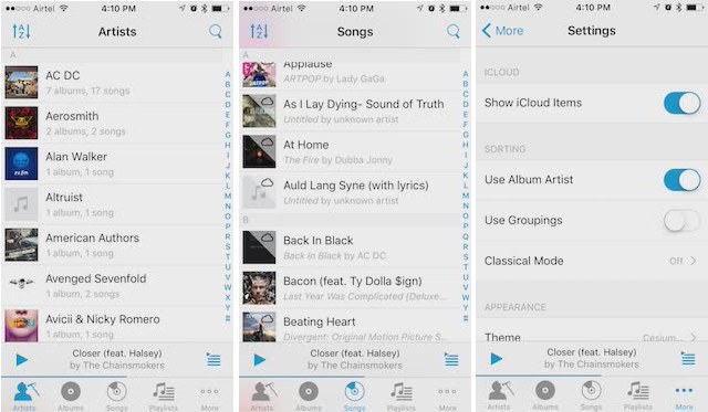 music players for iPhone cesium_1