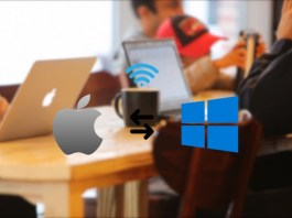 how to transfer files between mac and windows wirelessly without any software