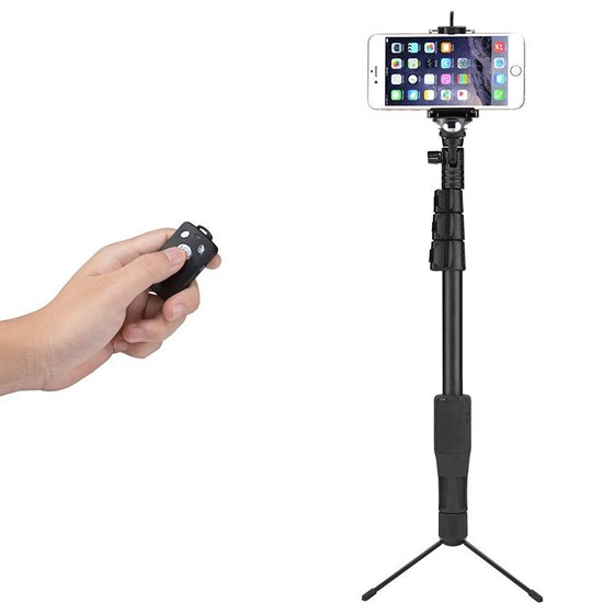 5 best bluetooth selfie sticks for iphone 7 and 7 plus beebom. Black Bedroom Furniture Sets. Home Design Ideas