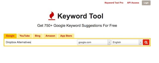 keyword planner alternatives