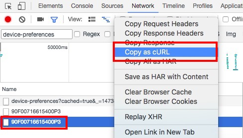 select-last-request-and-select-copy-as-curl