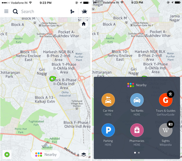 10 best gps and navigation apps for iphone 2016 beebom the offline functionality of the app includes street information as well so that the user can get turn by turn navigation even when they are offline gumiabroncs Gallery
