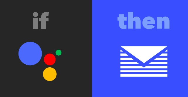 google assistant ifttt recipes