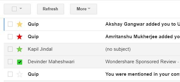 gmail-different-stars