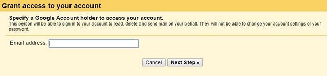 Gmail-грант доступ