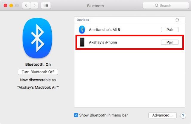 pair-iphone-to-mac