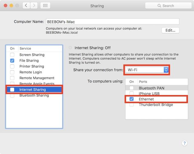 share-mac-wifi-via-ethernet