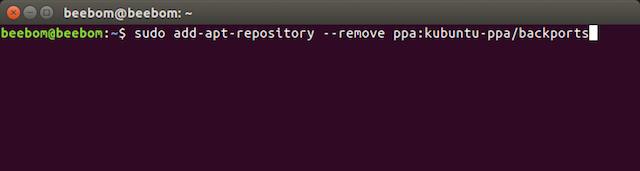 remove repository ubuntu xenial
