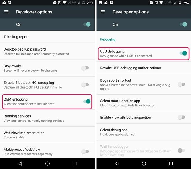 Android OEM Unlock