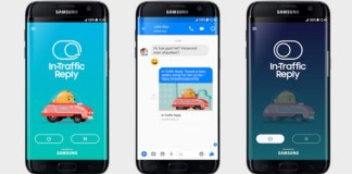 In-Traffic Reply App By Samsung Tackles Distracted Drivers