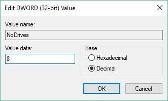 Edit Registry Key