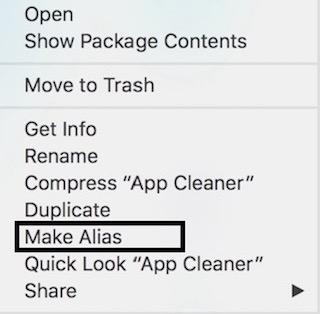 how to put folder in dock mac