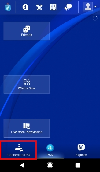 how to connect second screen ps4