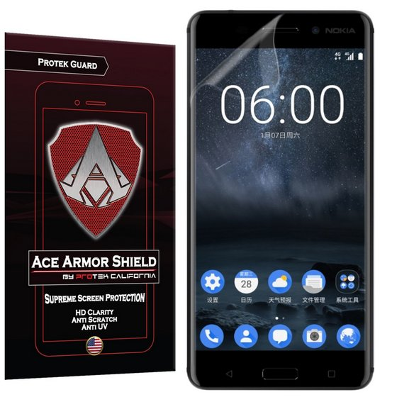 Ace Armor Shield ProTek Guard Screen Protector for the Nokia 6