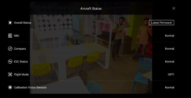 Aircraft Status 1