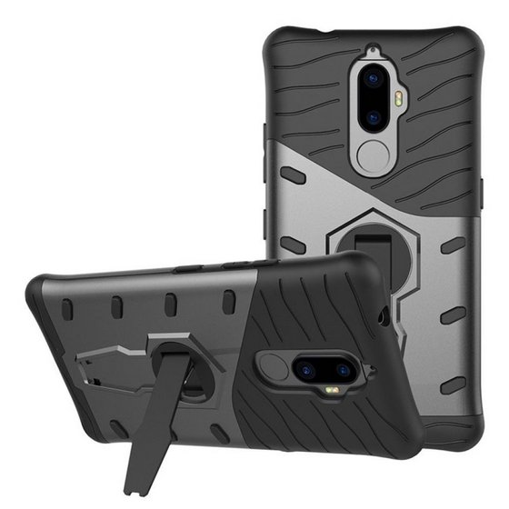Chevron Hybrid Armor Design Detachable Case