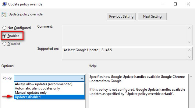 how to stop windows services from auto updating