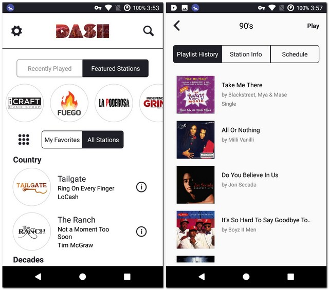 Dash Radio