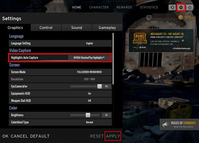 Enab; le ShadowPlay destaca en el juego