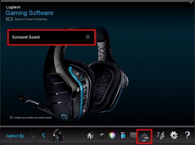 So aktivieren Sie Surround Sound auf Logitech Gaming Headsets
