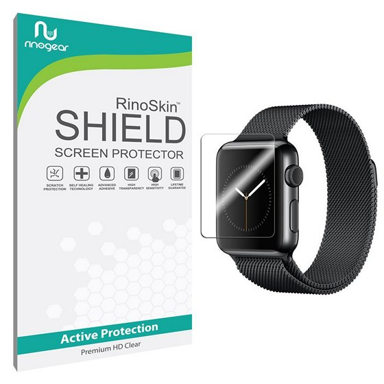 RinoGear Clear Shield Screen Protector For Apple Watch