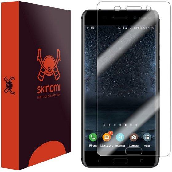 Skinomi TechSkin Full Coverage Screen Protector for Nokia 6