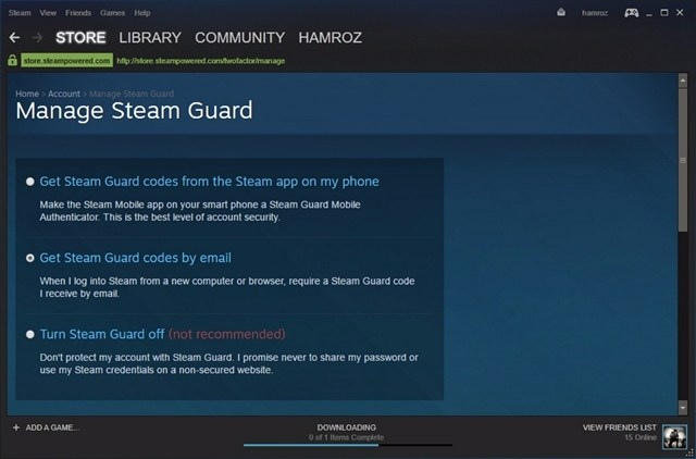 Steam-Guard-On