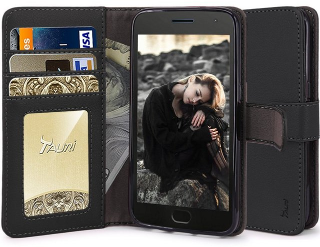 Tauri Wallet Case Moto G5 Plus