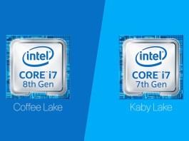 Intel Coffee Lake vs Kaby LakeA Quick Comparison