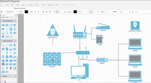 1 lucidchart best microsoft visio alternatives - Free Visio Type Software