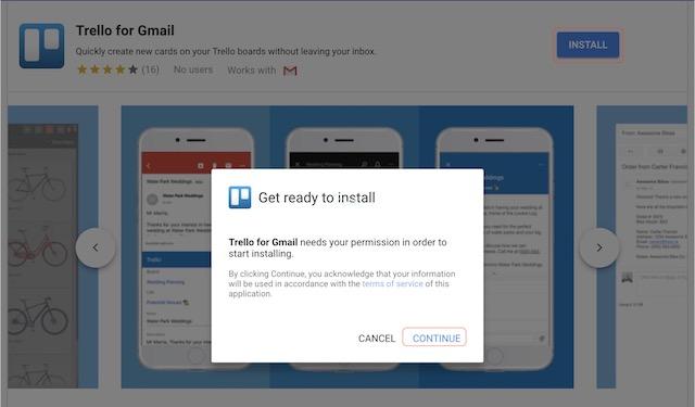 Hinzufügen von Google Mail-Add-Ons - Schritt 3