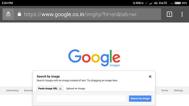 Come invertire la ricerca di immagini su Android