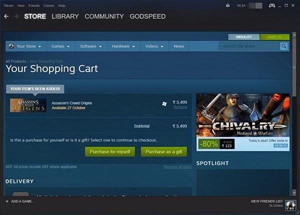Steam Purchase - 2