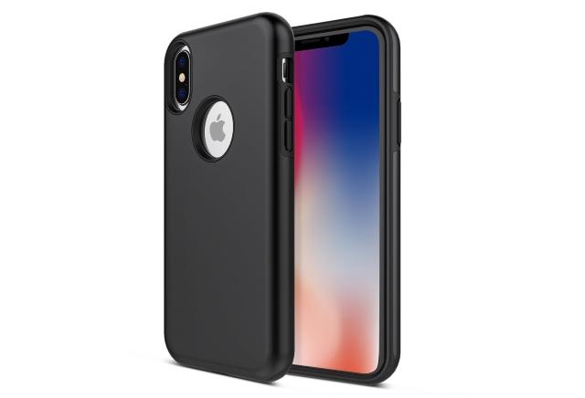 Apriletter Shock Absorption Soft TPU Bumper iPhone X Case