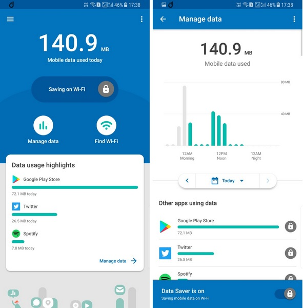 """Google's New """"Datally"""" App Lets You Restrict Other Apps from Wasting Data"""