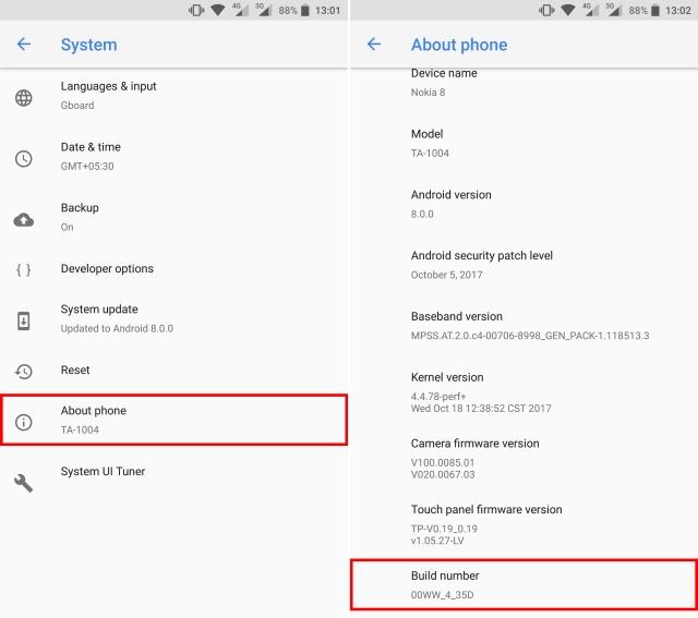 Best developer options for bluetooth
