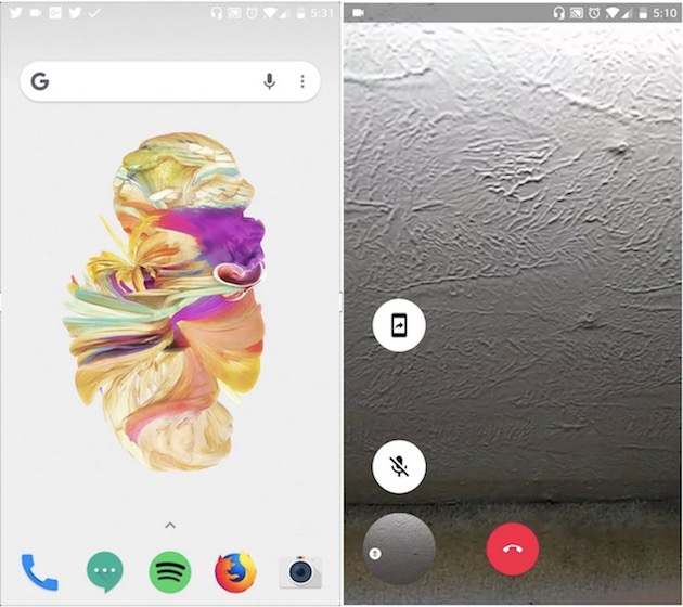 Google Due Screen sharing 1